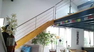 rambarde escalier design escalier avec rambarde inox à anglet vente d u0027escaliers et gardes