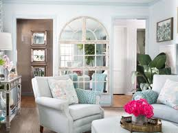 blue cottage hgtv small living room ideas styling tricks squeeze