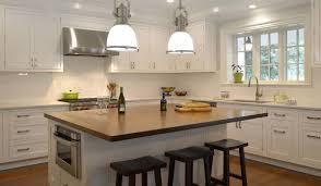 a modern colonial kitchen