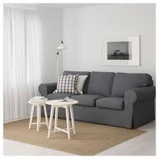 seat sofa ektorp three seat sofa nordvalla grey ikea