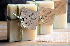 soap favors eco friendly bridal shower favors mossy creek soap