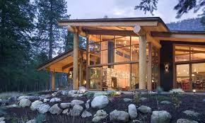One Story Log Homes 3 Story Open Mountain House Floor Plan Asheville Plans Living On