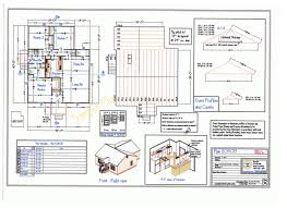 sample house plan set house design plans