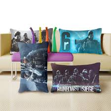 vintage siege rainbow six siege vintage unique chic cushion cover pillow cover