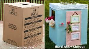 Vaisselle Shabby Chic The Shabby Chic Cottage Diy Cardboard Box Fun