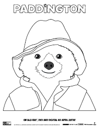 free download paddington bear coloring pages voices from the ville