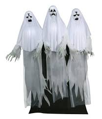 animated props animated haunting ghost trio decorations props