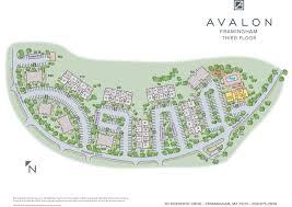 Natick Mall Map Apartments In Framingham Ma Avalon Framingham