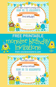 free birthday invitations free printable birthday invitations six clever
