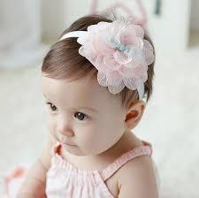 infant hair 1pcs children new korean hair accessories baby elastic lace