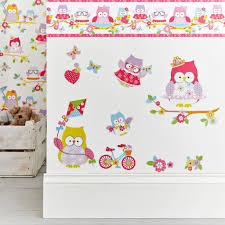 childrens wall stickers kids princess spiderman wall stickers olive the owl stickers