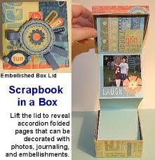 Small Scrapbook Album Diy Mini Scrapbooks And Gift Album Ideas And Tutorials