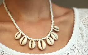 shell necklace making images Diy shell necklace jpg