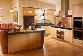 Roomy Nuance Modern Brown Nuance Maple Cabinets And Best Paint Color That Has