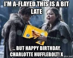 Ramsay Bolton Meme - i m a flayed this is a bit late but happy birthday charlotte