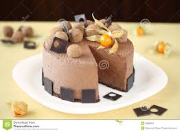 chocolate mousse cake decoration sweets photos blog
