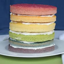 rainbow cake with natural dyes for the dailybuzz moms 9 9 itsy