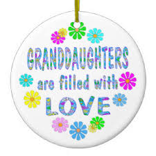 special granddaughter ornaments keepsake ornaments zazzle