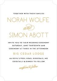 foil wedding invitations foil sted wedding invitations gold silver gold