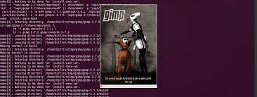 tutorial on ubuntu compiling gimp 2 8 rc1 for ubuntu 12 04 tutorials gimpusers com