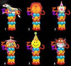 ballon delivery nyc circus theme no helium occasion pedestal nyc balloon delivery