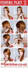 do a fishtail plait step by step fishtail braid sofeminine