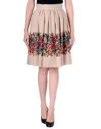 knee length skirt skirt floral skirt knee length skirt midi skirt dolce and