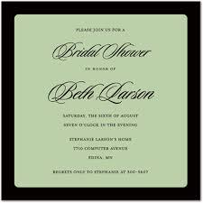 formal invitations black border square invitations formal party invitations 23852