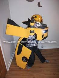 Transformer Halloween Costumes Awesome Homemade Transforming Bumblebee Transformer Halloween