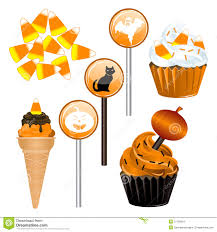 halloween candy cupcakes stock images image 21765834