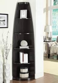 corner bookcase pflugerville furniture center contemporary corner shelf bookcase