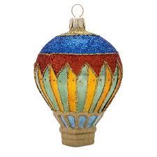 harlequin air balloon glass ornament susan s shop