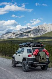 Fj Cruiser Roof Rack Oem by Fj Cruiser Setup Rooftop Tent Living Combo Pinterest Fj