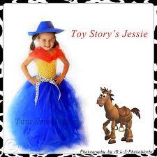 Toy Story Jessie Halloween Costume Handmade Jessie Toy Story Inspired Baby Girls Tutu Dress Costume