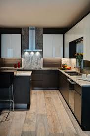 white contemporary kitchen cabinets gloss modern condo kitchen with high gloss white cabinets hgtv