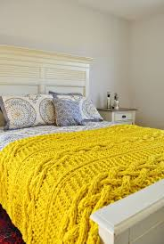 25 unique knitted throws ideas on knitted blankets