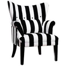 Black And White Striped Accent Chair Home Furnishings By Elisabethscott Liked On Polyvore Featuring