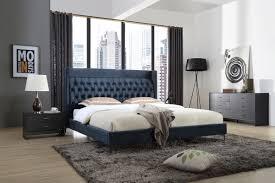 Bedroom Furniture Modern Design Modrest Wales Modern Grey Ash 2 Drawer Nightstand