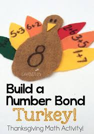 build a number bond turkey addition to 10 cs