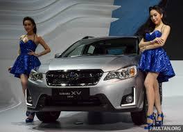 subaru xv malaysia 2017 2016 subaru xv launched at 2015 thailand motor expo