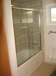 Kohler Bathroom Design Ideas Bathroom Frameless Kohler Shower Door With Stainless Door Handle