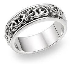 celtic knot wedding bands celtic knot wedding band in 14k white gold jewelry