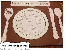 speechie freebies my plate is of thanksgiving freebie