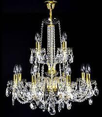 Czech Crystal Chandeliers Handmade Bohemian Crystal Chandeliers And Lights Le Cristal D