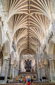 Cathedral Interior Interior Architecture Of Exeter Cathedral Pictures Getty Images