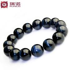 stone beaded bracelet images Guerrino blue tiger eye prayer beads bracelet hawkeye stone jpg