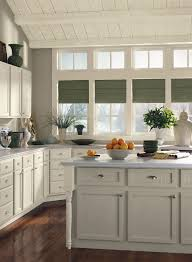 gray green kitchen cabinets transitional kitchen benjamin moore