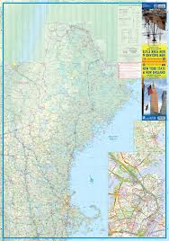 New England State Map by Maps For Travel City Maps Road Maps Guides Globes Topographic