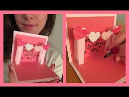 How To Make Punch Cards - pop up card twin hearts learn how to make a popup heart
