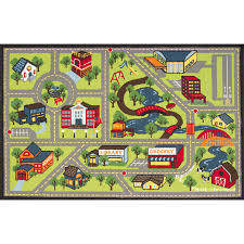 Kids City Rug by Fashionable Idea Town Rug Modest Ideas Childrens Play Village Mat